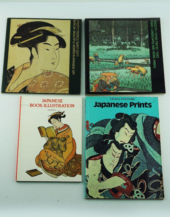 Gravuras japonesas (livros e Catálogos)