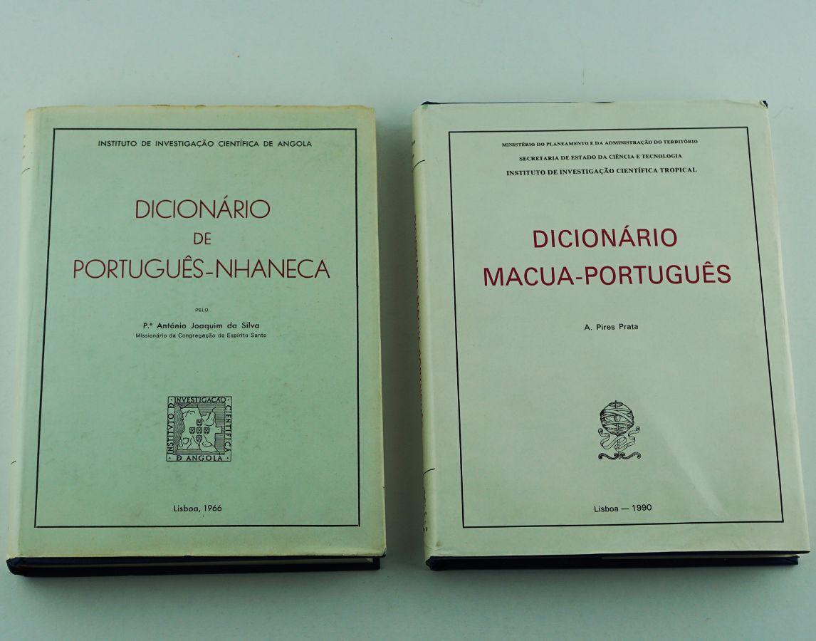 Dicionários de línguas africanas (Macua e Nhaneca)