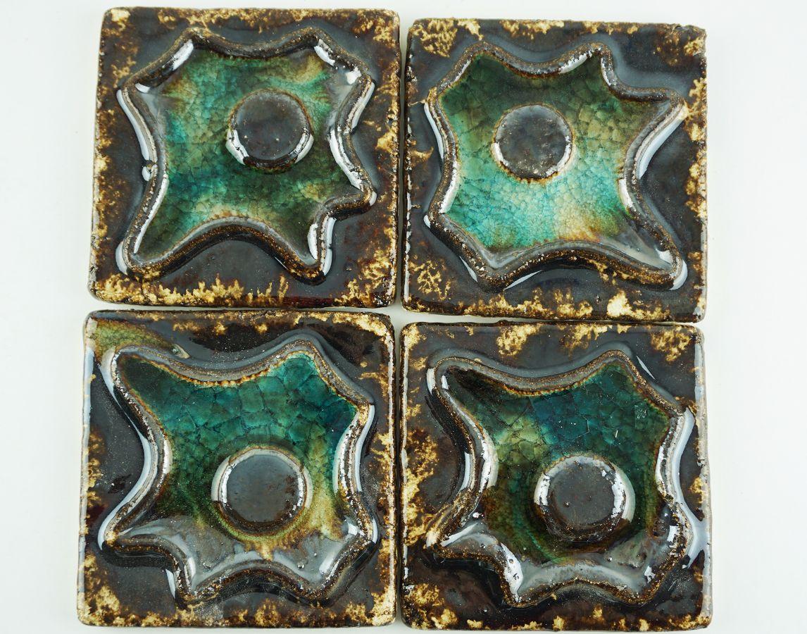 4 Azulejos Modernistas Portugueses