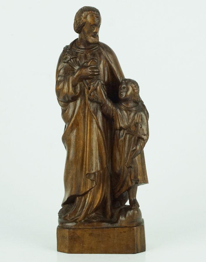 S. José com Cristo