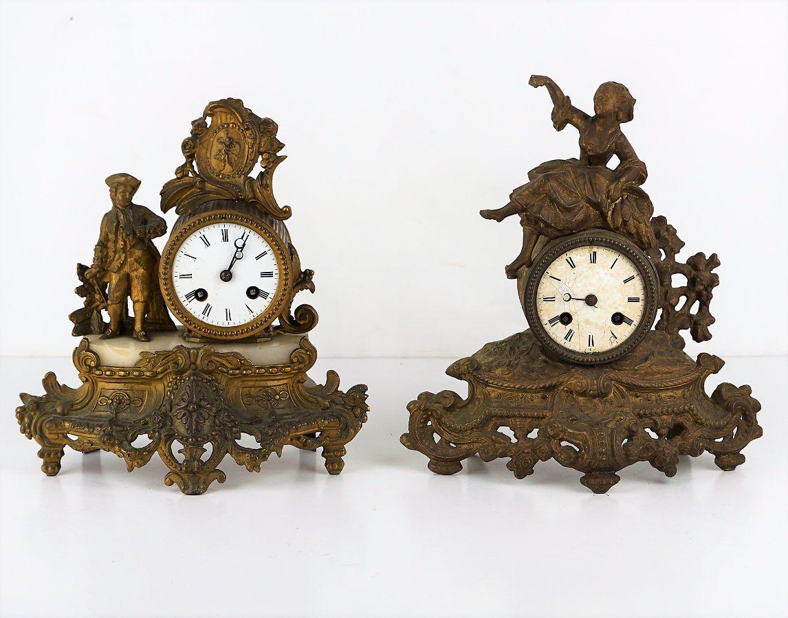 2 Relógios de mesa