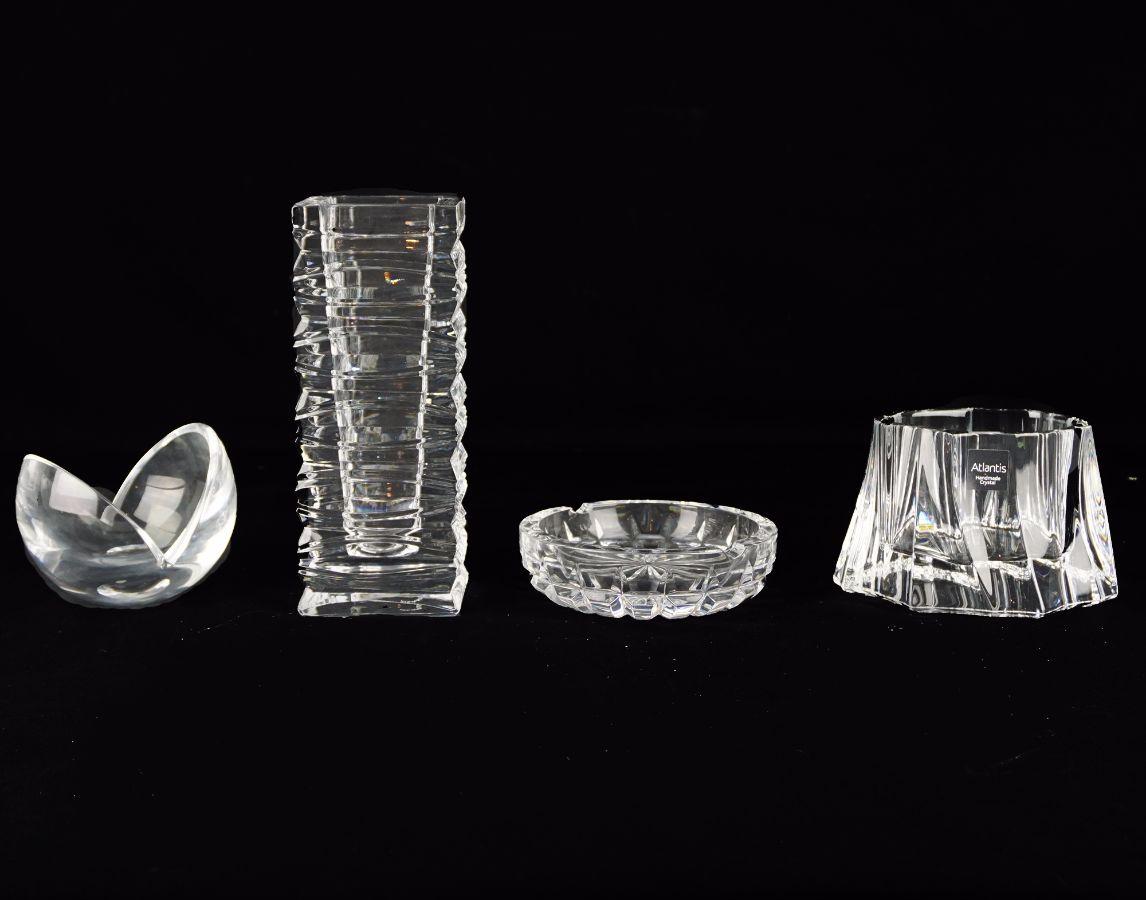 4 Peças em cristal