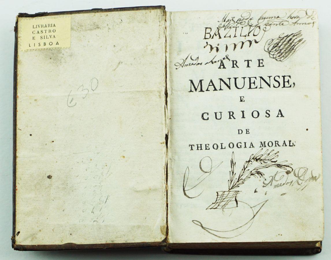 Arte Manuense e Curiosa Theologia Moral