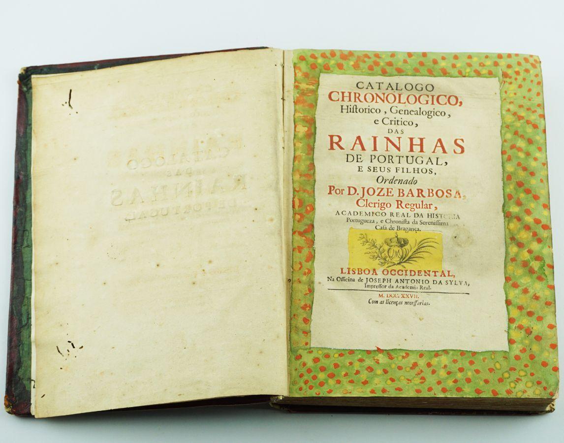 Catálogo Chronologico das Rainhas de Portugal e seus filhos