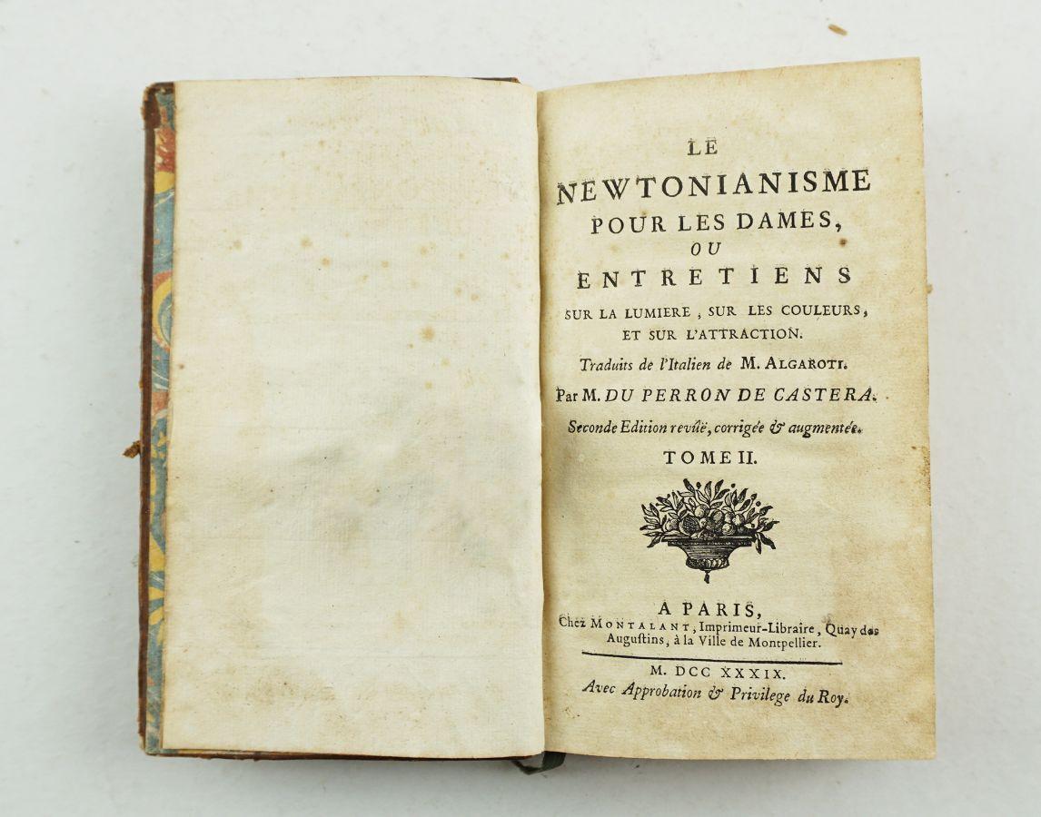 Le Newtonianisme pour les dames ou entretiens