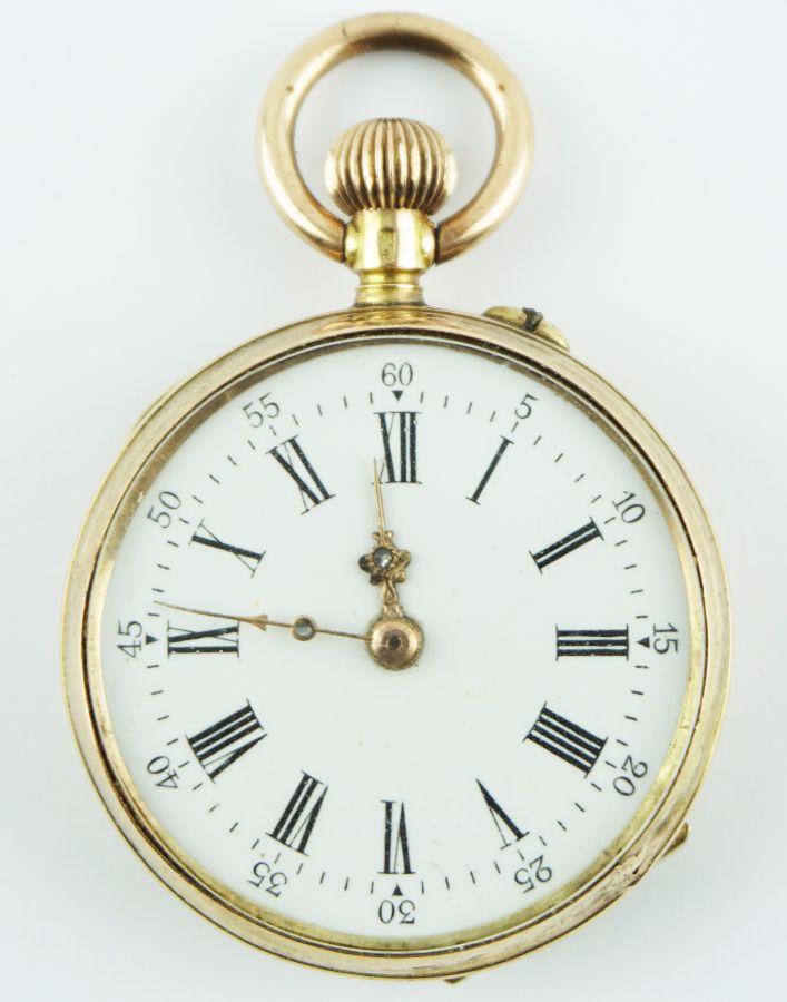 Relógio de lapela feminino