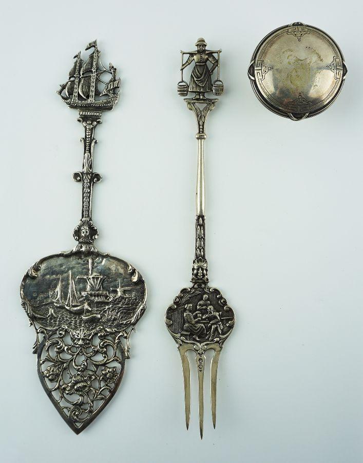 2 Peças em prata