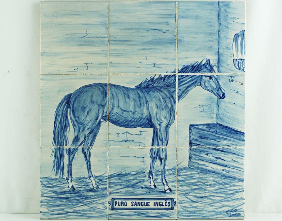Painel de 9 Azulejos