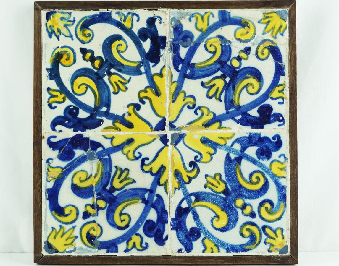 Painel de 4 Azulejos