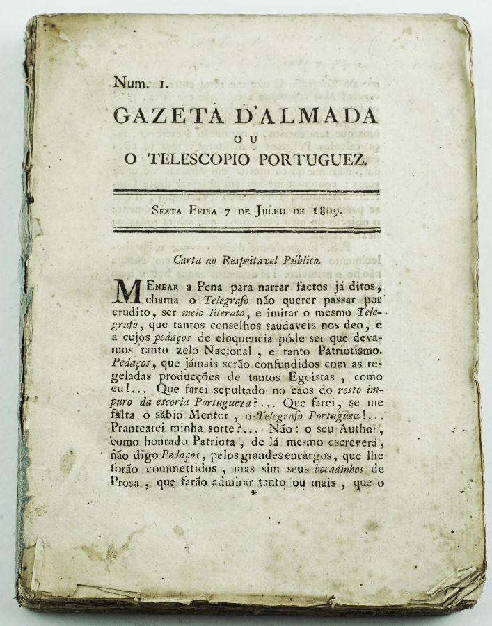 Gazeta de Almada ou O Telescópio Português (1809)