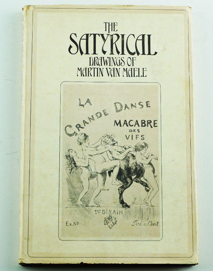 Livro sobre o ilustrador erótico Van Maelle