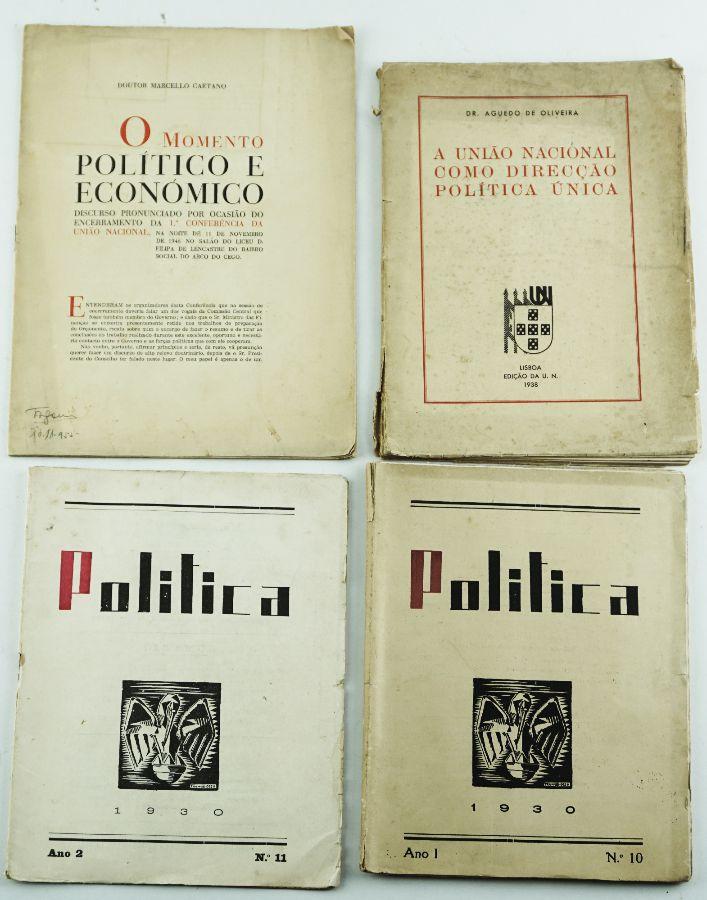 4 Livros sobre Política