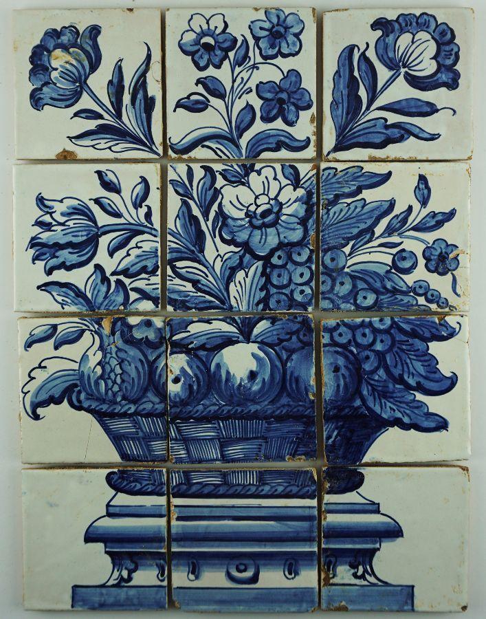 Painel de 12 Azulejos