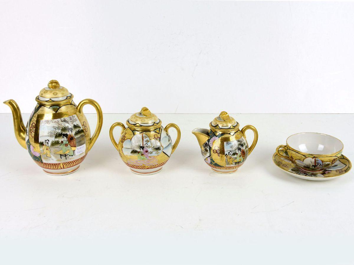 Serviço de chá para 6 pessoas