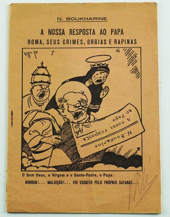 Raro folheto clandestino comunista (1930)