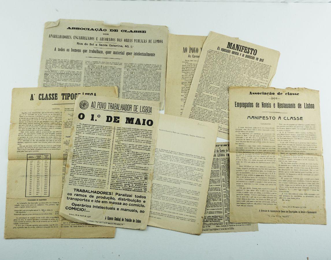 Manifestos sindicais da I República