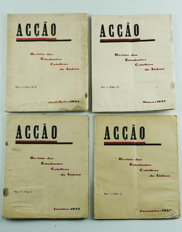 Acção – Revista dos Estudantes Católicos de Lisboa (1933)