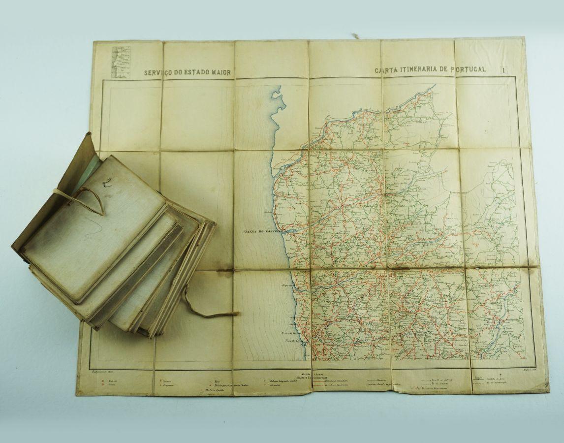 Carta Itinerária de Portugal (1905)