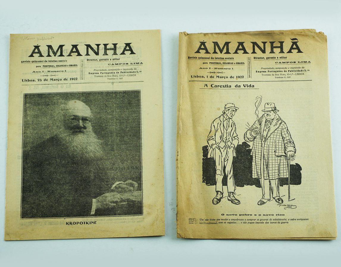 Amanhã, revista anarquista (1922)