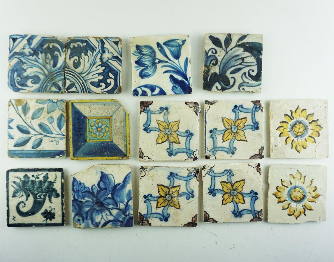 14 Azulejos diversos