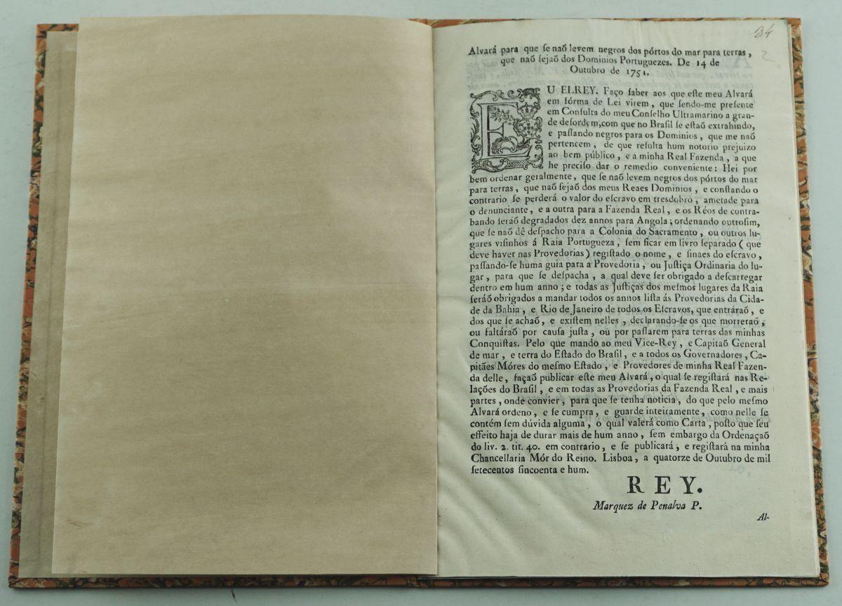 Escravatura, séc. XVIII