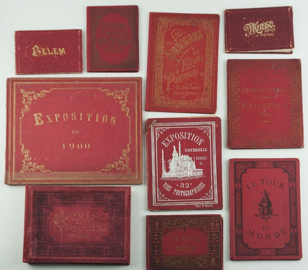 10 Livros diversos com impressões Fotográficas