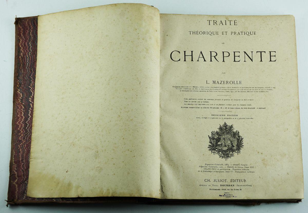Traité Téorique et Pratique de Charpente