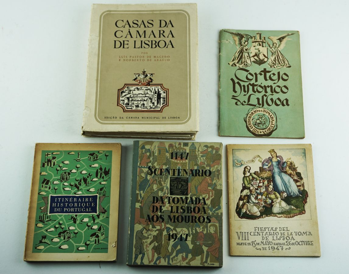 5 Livros diversos