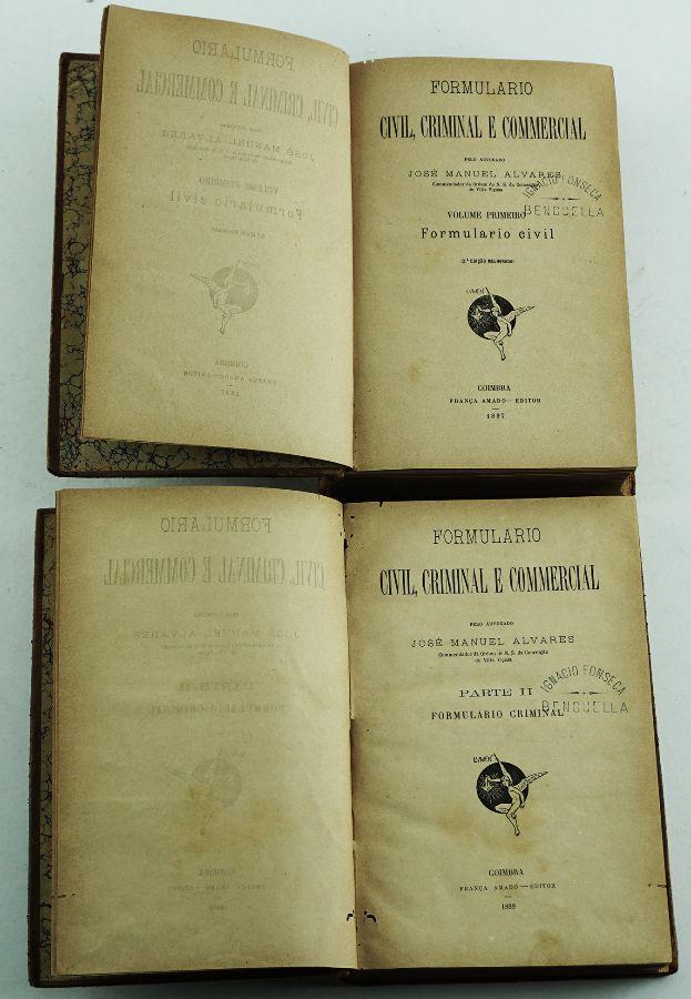 Formulário Civil, Criminal e Commercial