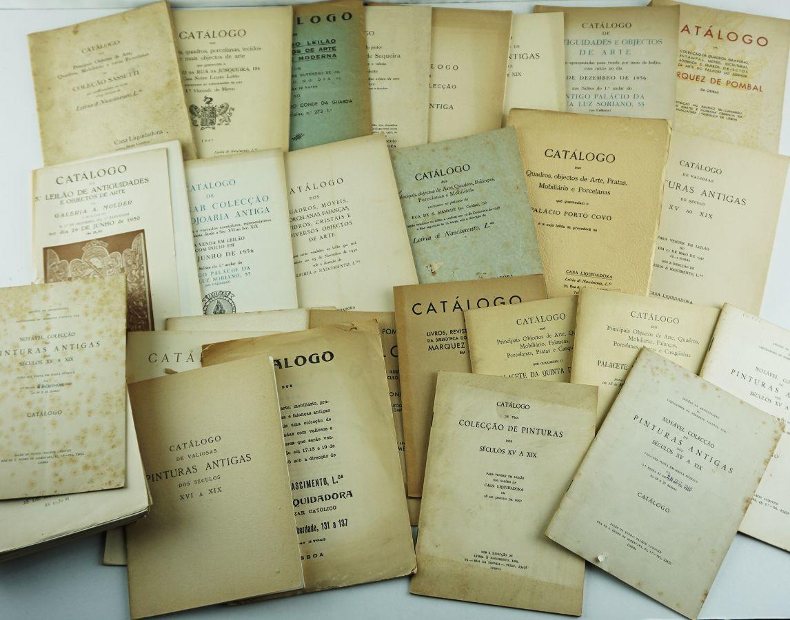 Catálogos de Leilões em Portugal