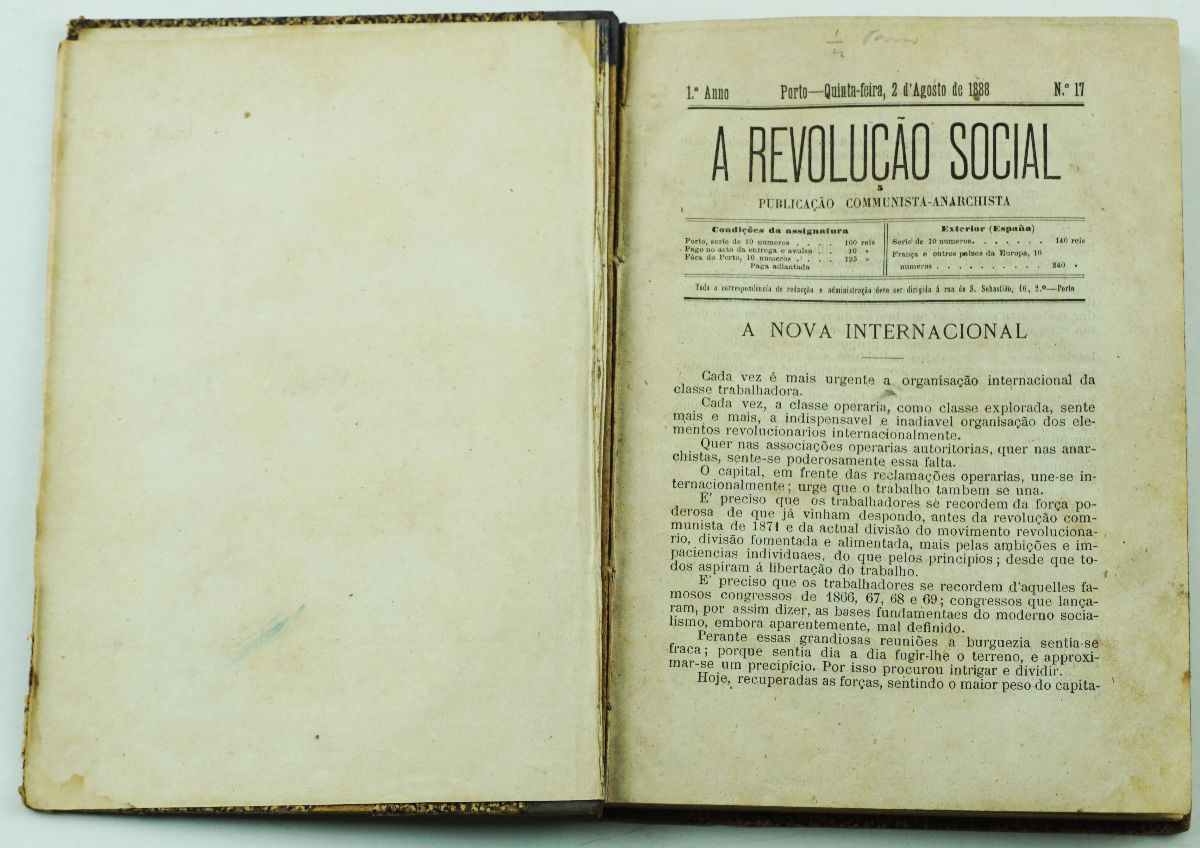 A Revolução Social (1888)