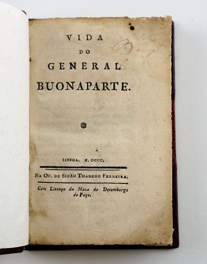 Napoleão – a primeira biografia portuguesa (1800)