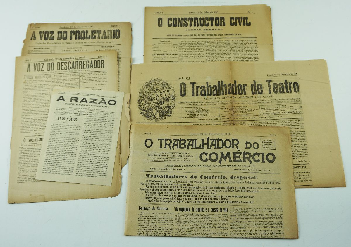 Jornais sindicais portugueses