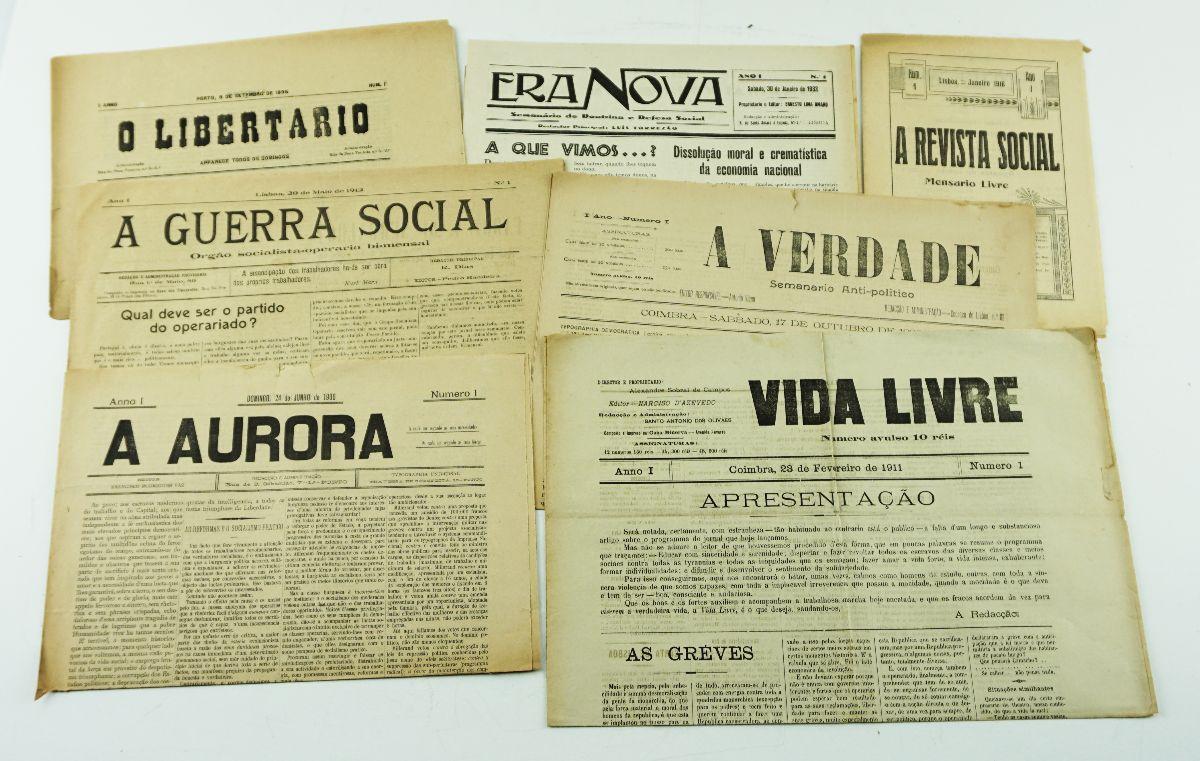 Jornais anarquistas portugueses