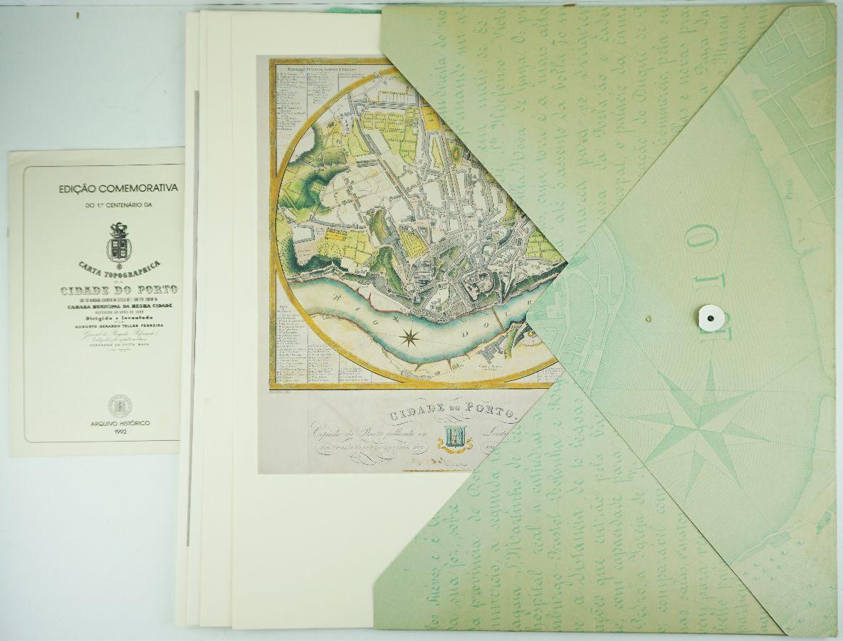 Carta Topográfica da Cidade do Porto