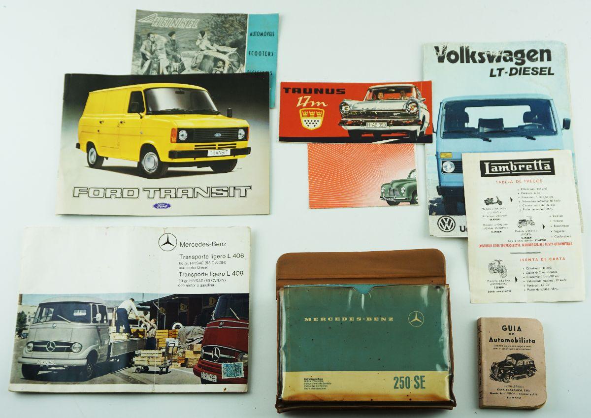 Catálogos de Automovéis e Motociclos