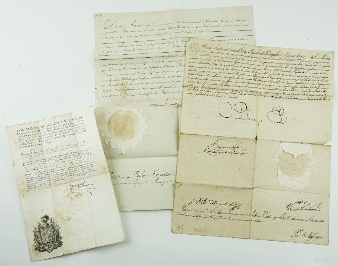 2 Cartas patentes