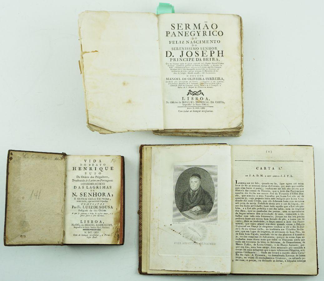 Livros e folhetos séc.XVIII