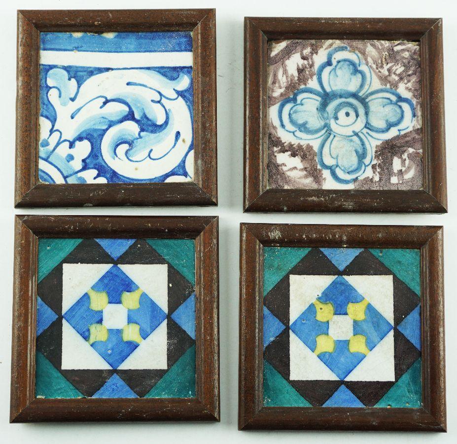 4 Azulejos diversos
