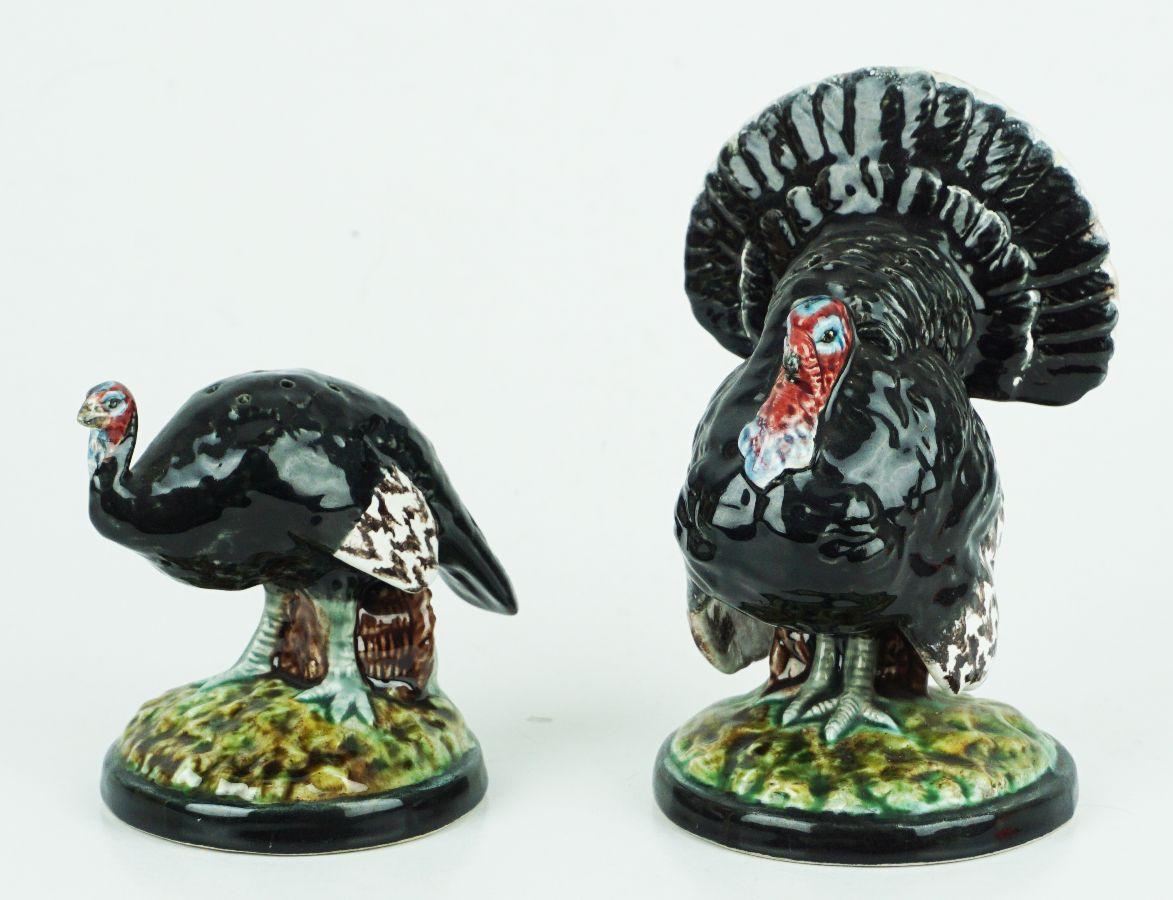 2 Paliteiros em forma de perú