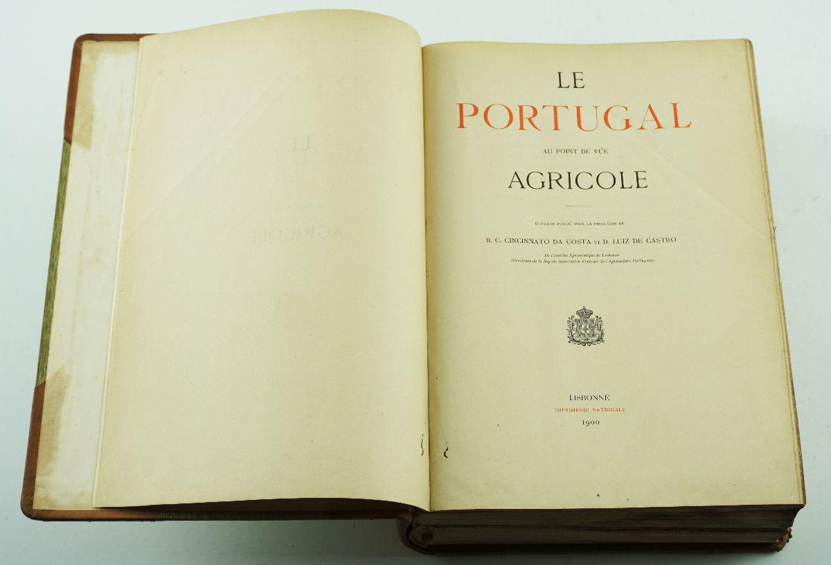 LE PORTUGAL AU POINT DE VUE AGRICOLE