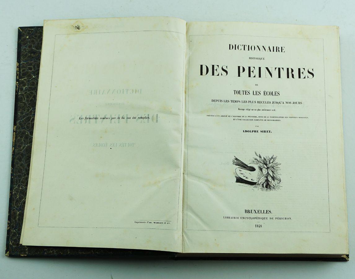 Dictionnaire Historique des Peintres