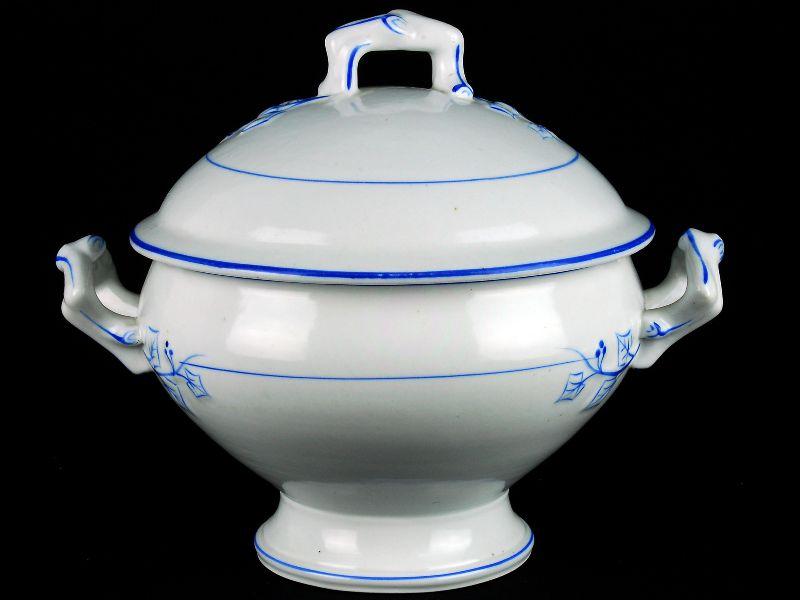 Terrina Redonda em Porcelana