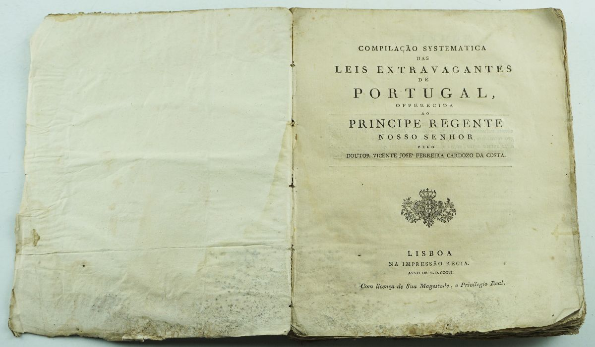 Leis Extravagantes de Portugal, 1806