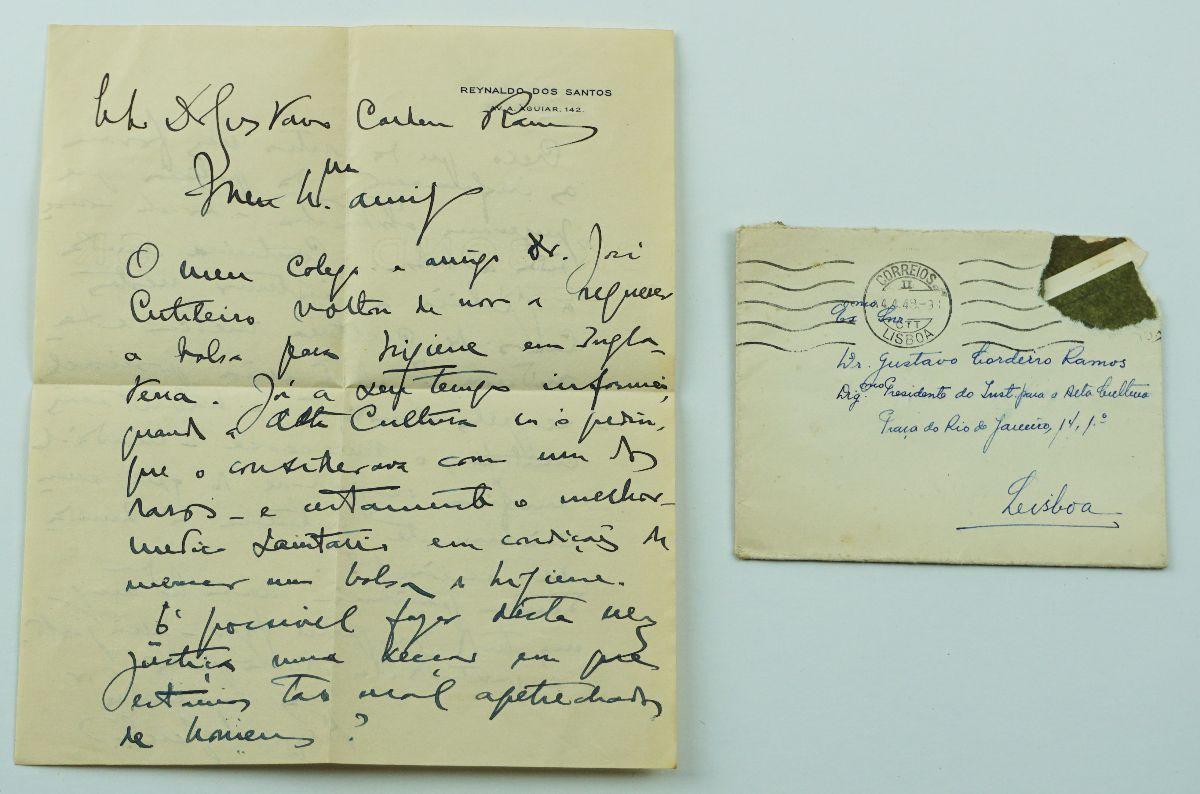 Manuscrito Reynaldo dos Santos