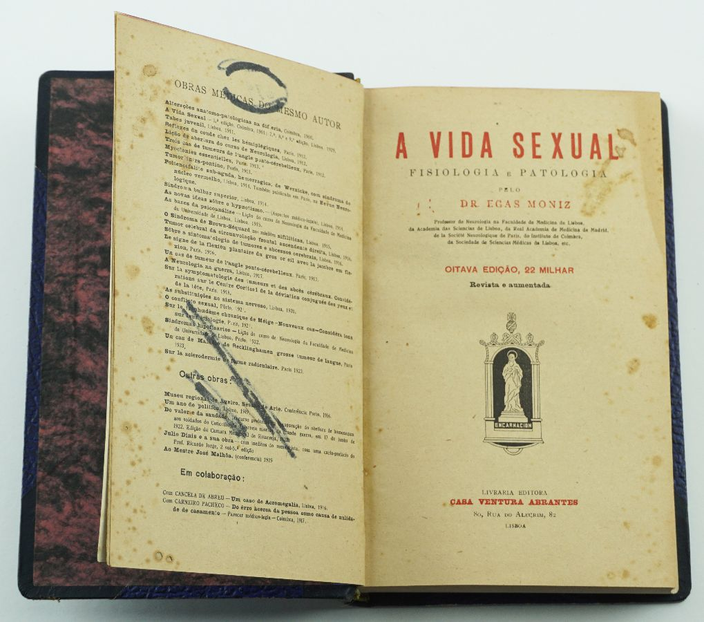 VIDA SEXUAL - EGAS MONIZ