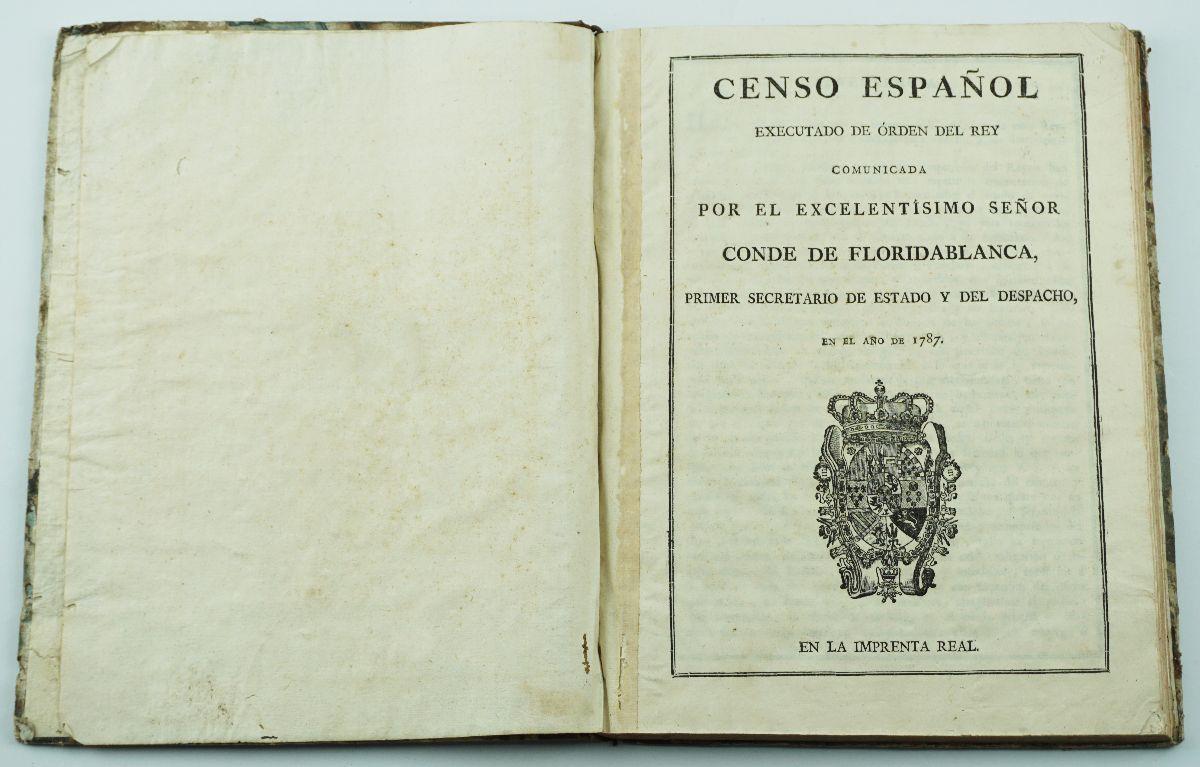 Censo Espanhol de 1787