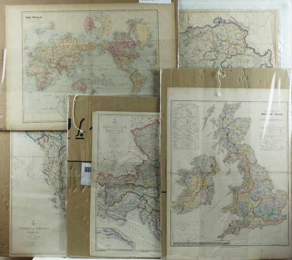 5 Mapas diversos