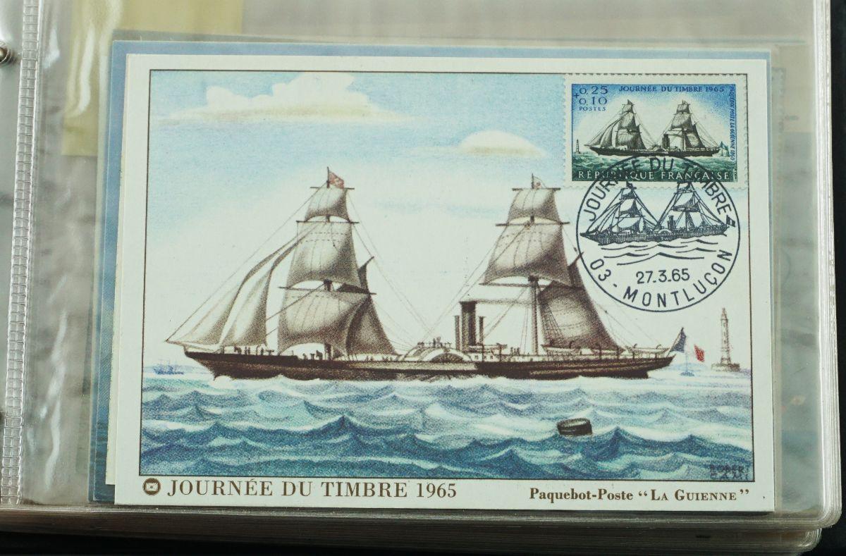 Filatelia Temática Barcos e Navegação