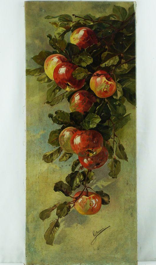 Natureza morta com maçãs